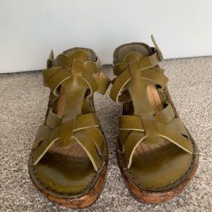 BØRN Handcrafted Sandal Wedges